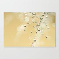 Fairy Dust Drops Canvas Print