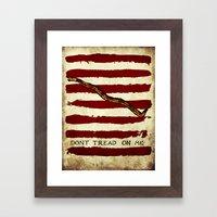 Navy Jack Framed Art Print