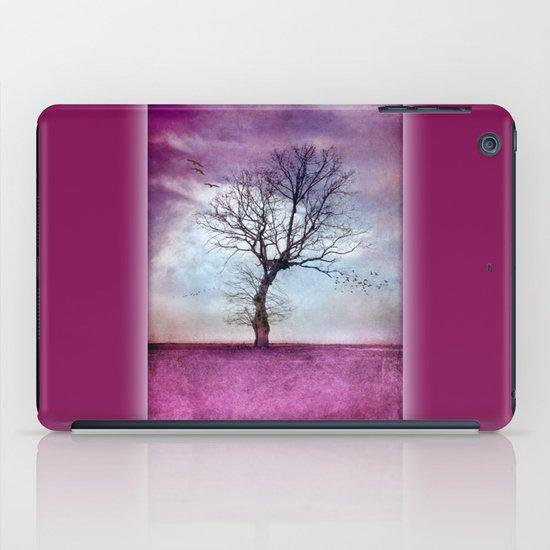 ATMOSPHERIC TREE | Pink Morning iPad Case