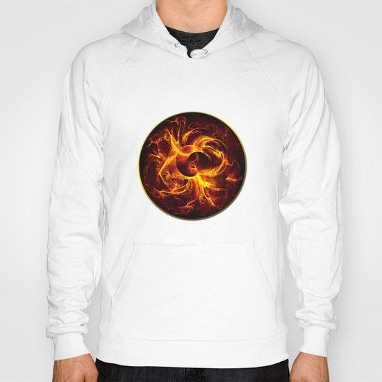 Flame Mandala Hoody