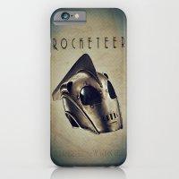 iPhone & iPod Case featuring ROCKETEER! by John Medbury (LAZY J Studios)