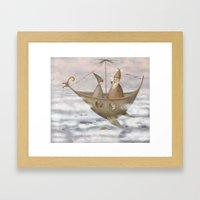A Mystical Voyage Framed Art Print