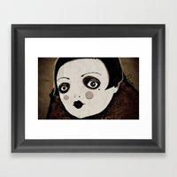 Wall-eyed Framed Art Print