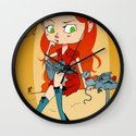 Doctor Mouse Wall Clock