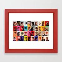 Yeah ! Pop Culture ! Framed Art Print