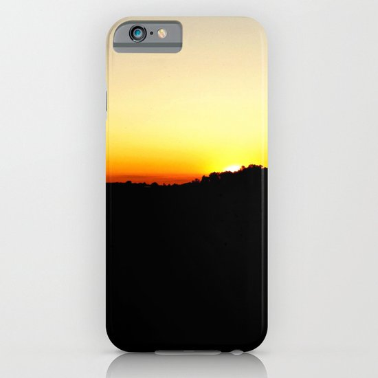 Warm Sunset iPhone & iPod Case