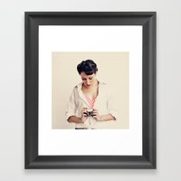 Vintage Photography Framed Art Print