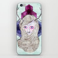Hair Mask iPhone & iPod Skin