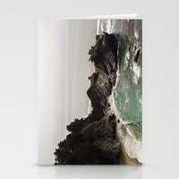 BIG SUR, CA WATERFALL AN… Stationery Cards