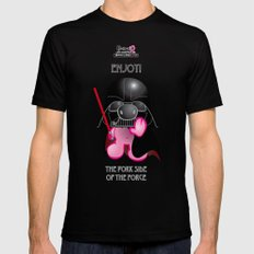 Berto: The Mental-issue pig trying Darth Vader costume SMALL Mens Fitted Tee Black