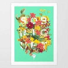 Flora Tropical. Art Print