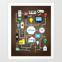 INNOVATION Art Print