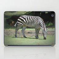 Zebra iPad Case