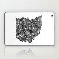Typographic Ohio Laptop & iPad Skin
