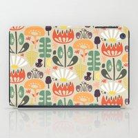 Scandinavian Wildflowers iPad Case