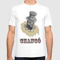 PAPA CHANGO Mens Fitted Tee White SMALL