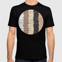 Shreds of Colors 3 Mens Fitted Tee Black SMALL