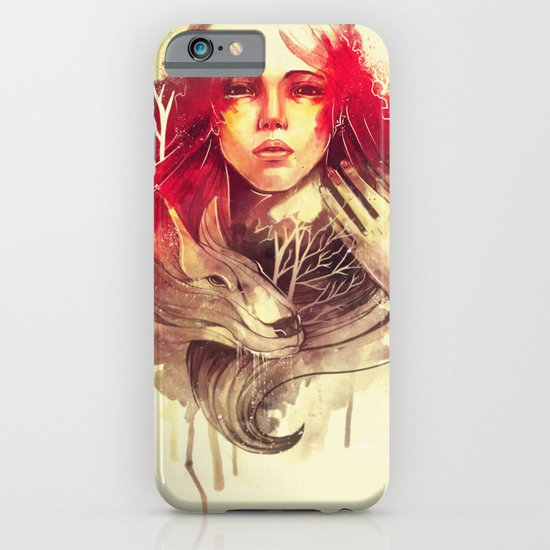 Purity In Red iPhone & iPod Case