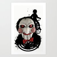 Billy The Puppet: Monste… Art Print