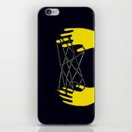 Yellow Cats Cradle iPhone & iPod Skin