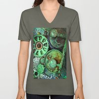 COMPLICATED TEXTURES Unisex V-Neck
