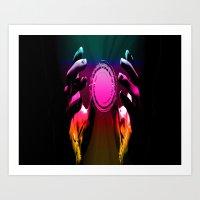 Holding the Spectrum Art Print