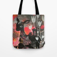 Killer Tulips Tote Bag
