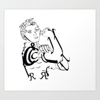 Rr Art Print