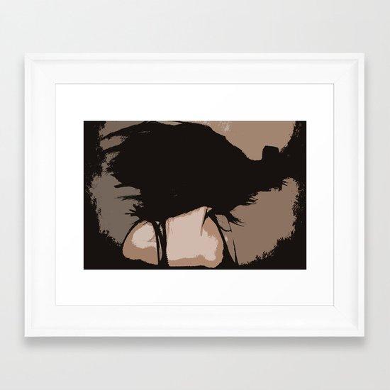 Chaotic Framed Art Print