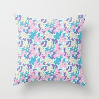 Wild Pattern 3 Throw Pillow