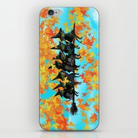 Seven Witches On A Broom… iPhone & iPod Skin