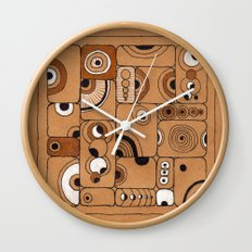 The Tile Wall Clock
