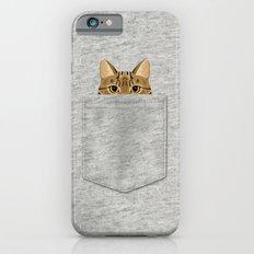 Pocket Tabby Cat Slim Case iPhone 6s