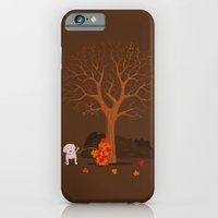 iPhone & iPod Case featuring the fall and dog by gazonula