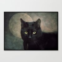 Hunter's Moon Canvas Print