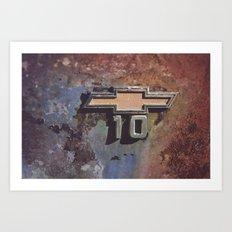 10 Art Print