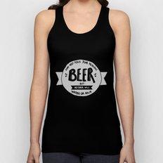 Beer Unisex Tank Top