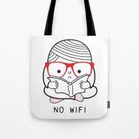 No wifi Tote Bag