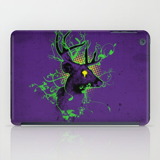 Trippy Ghost Deer iPad Case