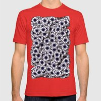 Anemone Mens Fitted Tee Red SMALL