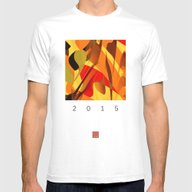Pumpkin Spice Mens Fitted Tee White SMALL