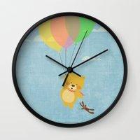 I can fly! Wall Clock