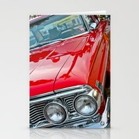 Red Ford Custom 500 Gala… Stationery Cards