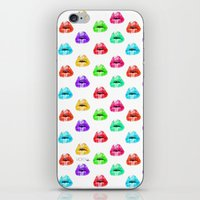 Lip Print iPhone & iPod Skin