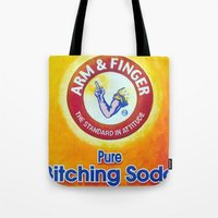 Arm & Finger Bitching So… Tote Bag