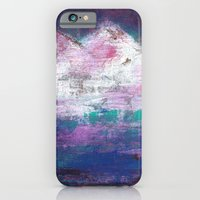 iPhone & iPod Case featuring Pink Mountains by Kristen Fagan