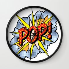 POP Art #4 Wall Clock