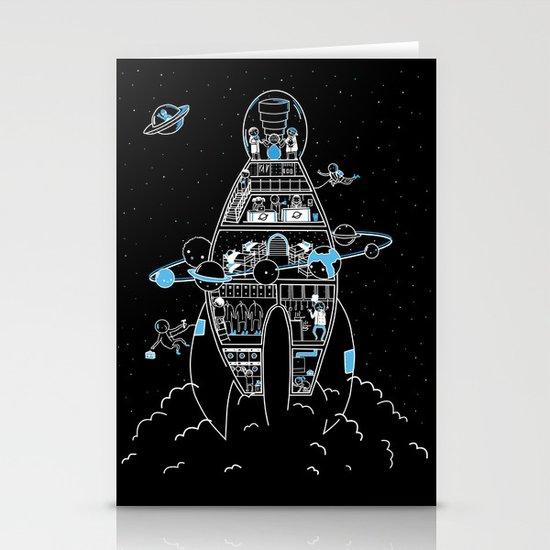 Interstellar Travels Stationery Card