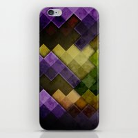 Abstract Cubes GYP iPhone & iPod Skin