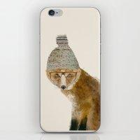 indy fox iPhone & iPod Skin